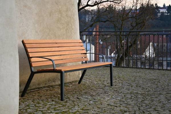 ALUMA ławka parkowa 2