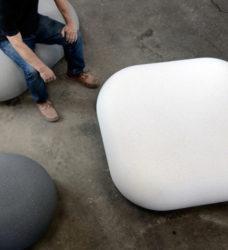 ławka betonowa IO