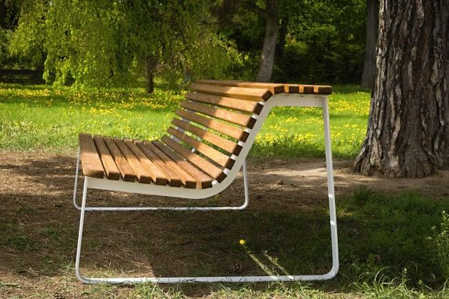 VELA - ławka parkowa