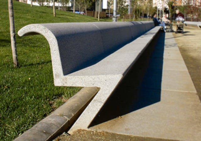 ławka betonowa BANCO-U