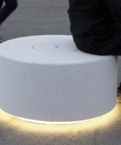 ławka betonowa SOC