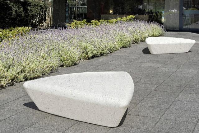 ławka betonowa extasi