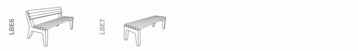 ławka BETLA