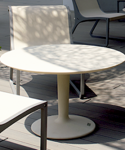 krzesła + stolik betonowy CONCRET