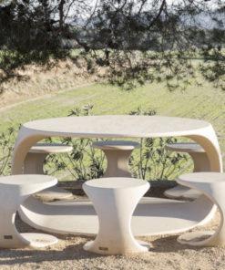 zestaw stół i ławki ODOS