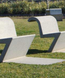 krzesło betonowe SILLA-U