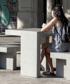 ławka betonowa PRAT