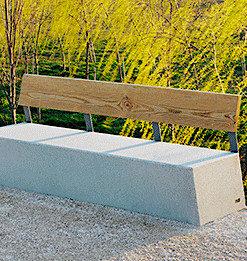 ławka betonowa ZUERA