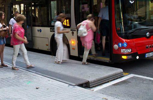 platforma przystankowa PLATFORMA BUS