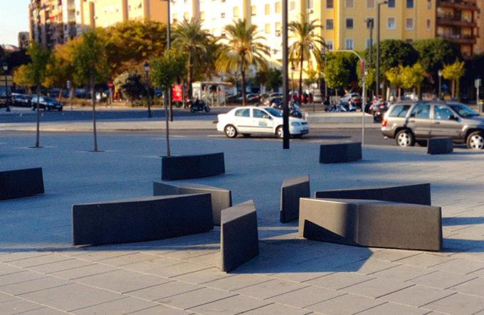 betonowy słupek parkingowy JUANOLA
