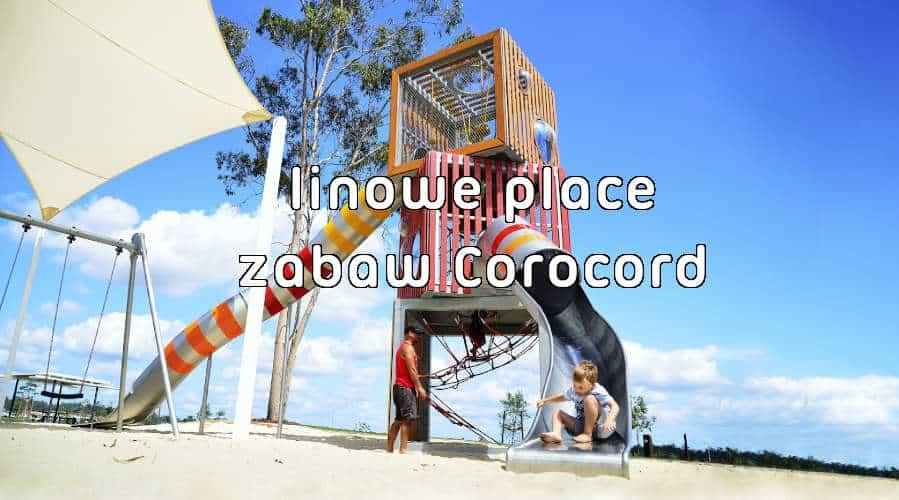 linowe place zabaw Corocord