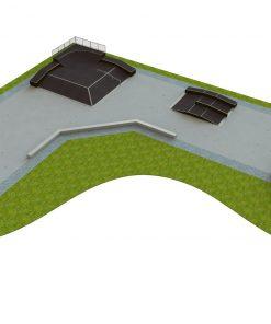 Skatepark - zestaw B190