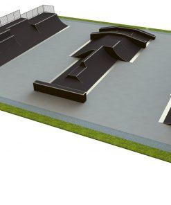Skatepark - zestaw B195