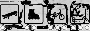 Skatepark - zestaw B170