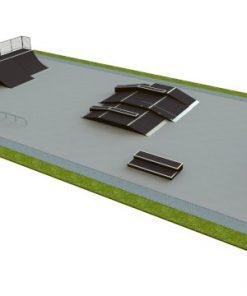Skatepark - zestaw B115