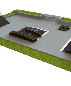 Skatepark - zestaw B120