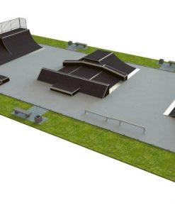 Skatepark - zestaw B130