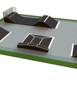 Skatepark - zestaw B132