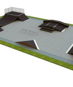 Skatepark - zestaw B140