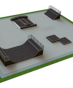 Skatepark - zestaw B144