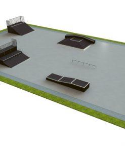 Skatepark - zestaw B145
