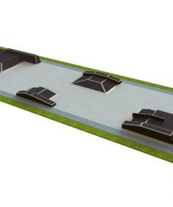 Skatepark - zestaw B150