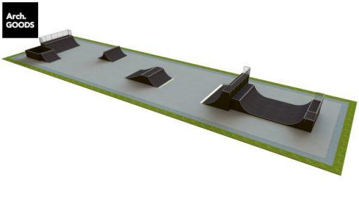 Skatepark - zestaw B175