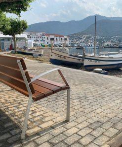 parkowa ławka aluminiowa MODO