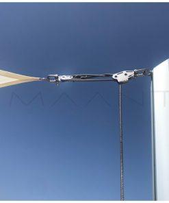 słup żagla przeciwsłonecznego Alusimple