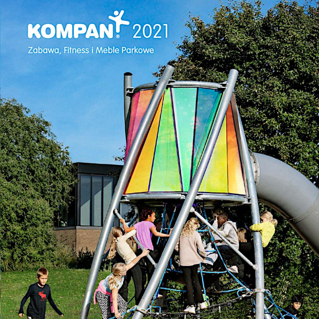 katalog placów zabaw KOMPAN 2021