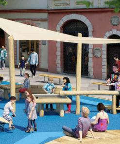 zadaszenie na plac zabaw