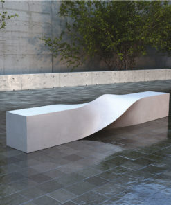 ławka S BENCH beton UHPC