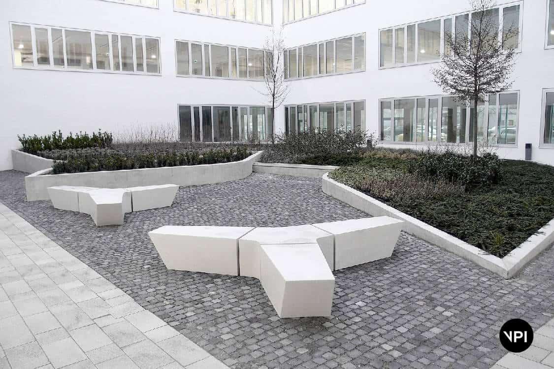 ławka betonowa Croma 1