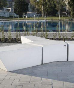 ławka betonowa CROMA 007