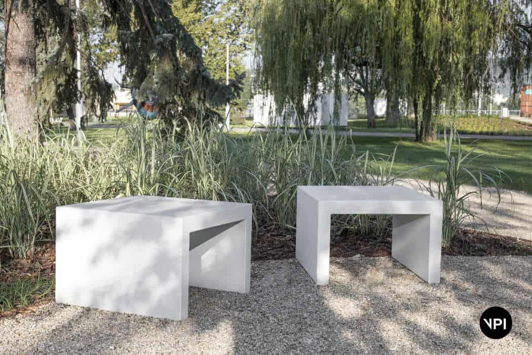 ławka betonowa LINER