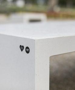 ławka betonowa LINER 7