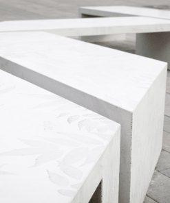 ławka betonowa Zigza 13