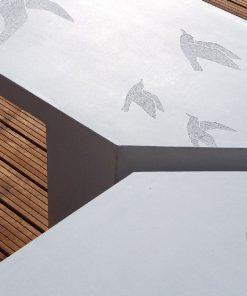 ławka betonowa Zigza 8