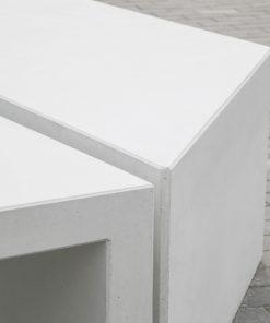 ławka betonowa Zigza 4