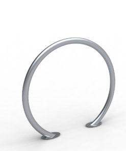 stojak rowerowy w kszatałcie koła