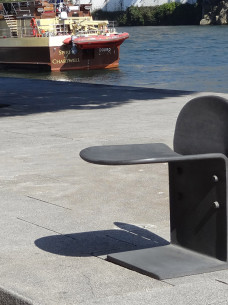 krzesło żeliwne Cais