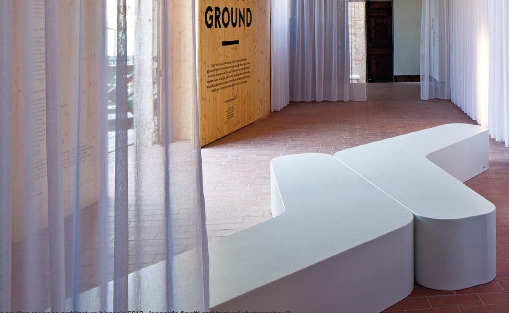 ławka z betonu architektonicznego boomerang_b