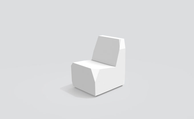 krzesło uliczne Clean