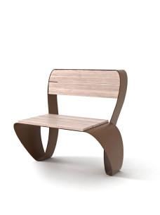 krzesło miejskie FLUXUS CHAIR