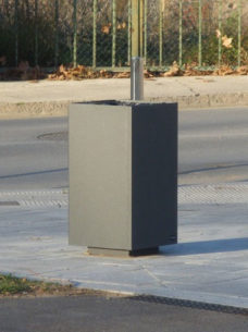 kosz uliczny Al Ras Corten 4