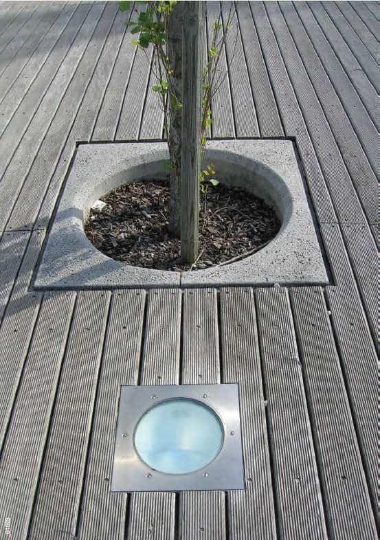 betonowa osłona pod drzewo Dafozz