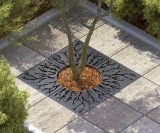 kraty pod drzewo - model LAB23