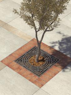 Kraty pod drzewo o wyjątkowym wzorze