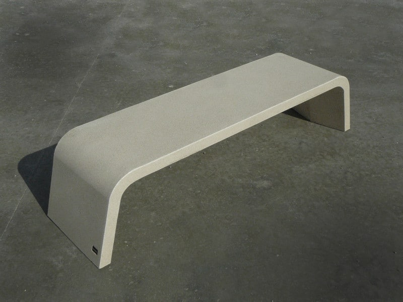 ławka betonowa mimetic