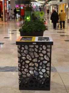 kosz do segregacji odpadów pebbles